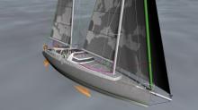 Le Votaan 72, futur voilier de transport transatlantique de Grain de sail
