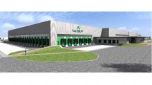 La nouvelle plateforme logistique de Le Roy Logistique