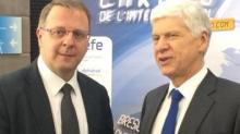 Franck Zal et Arnaud Vaissié, président de CCI France International