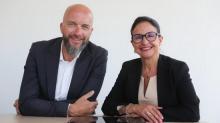 Franck Sauvaget et Marie-laure Collet