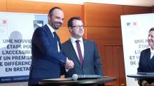 Le Premier ministre  et le Président du conseil régional de Bretagne ont signé ce vendredi 8 février à Rennes,  un Pacte d'accessibilité pour la Bretagne et un Contrat d'action publique.