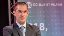 Pierrick Auvray Vice-Président de la CCI Ille-et-Vilaine, Président de la délégation de Saint-Malo
