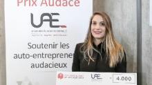 Fondatrice de l'auto-entreprise « Adapt-t »,Margaux Betton a remporté mercredi 29 novembre le Prix Audace 2017 de la région Ouest au Salon des Entrepreneurs de Nantes