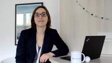 Adeline Debrie, Responsable de l'agence Bretagne Normandie du Groupe Helpline