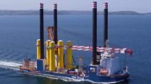 Van Oord commencera les opérations offshore en 2021 avec l'installation des pieux à l'aide de son navire d'installation offshore Aeolus