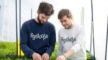 Romain Vandame et Jérémie Cognard, co-fondateurs d'Agriloops à Rennes, en 2016