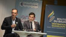 Le lancement du Club Rhum s'est déroulé à la Délégation CCI de St Malo le 18 octobre dernier en présence de Pierrick Auvray , vice Pdt à la CCI Ille-et-Vilaine et Martin Meyrier , vice pdt à l'économie et l'innovation à la Région , partenaires de l'évènement