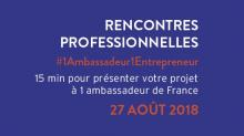 1 ambassadeur 1 entrepreneur : speed dating économique à destination des  TPE et PME