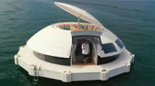 Capsule flottante, nomade, énergétiquement autonome et respectueuse des écosystèmes, Anthénea sera construite à Lannion dans les Côtes d'Armor