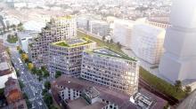 Le programme Beaumont, situé au pied de la gare de Rennes est réparti sur 3 bâtiments dont un de 50 mètres de hauteur. L'ensemble comprendra 125 logements (locatif social, accession et résidence gérée), près de 1 500 m² de surfaces commerciales, et 12 000 m² de bureaux.