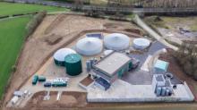 Centrale biométhane de Kastellin, le 1er site d'injection de biométhane dans le réseau de transport de GRTgaz en Bretagne