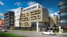 Le promoteur Mur-Murs construit l'hôtel Le Foil sur le port de Brest
