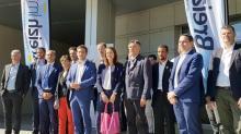 , Elus, partenaires financiers et indsutriels engagés dans Breizh Immon étaient réunis ce lundi 16 septembre au Conneil régional de Bretagne