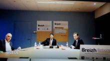 Loig Chesnais-Girard, Jean-Pierre Denis et Xavier lépine ont officiellement lancé Breizh Rebond ce mardi 26 janvier