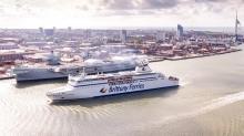 Cap Finistère, navire le plus rapide de la flotte, assurera cette nouvelle ligne fret