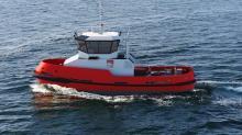 Construction d'un remorqueur portuaire pour les ports de Brest-Roscoff