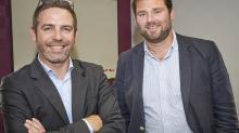 Jean-Denis Bargibant (à gauche) et Damien Harlé, codirigeants de Ouest composites