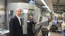 Rodolphe Henry a repris le 10 février dernier Coraxes, une PME costarmoricaine spécialisée dans l'usinage de haute précision.