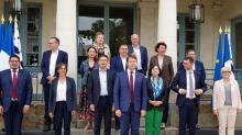Loïg Chesnais-Girard, Président de la région Bretagne et ses 13 vice-présidents (es)13