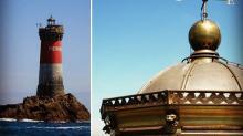 a nouvelle lanterne du #Phare des Pierres Noires est opérationnelle pour les 150 prochaines années ! Signée Crézé.