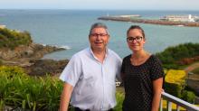 Jean-Luc (sur la photo) et Odile Landel  dirigent l'Hôtel Ker-Moor . Ils ont recruté leur fille  Emeline (sur la photo) pour s'occuper de la communication et du suivi de la stratégie web