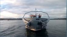 Ecocéane s'est spécialisé dans ces navires dépollueurs en déposant des brevets sur des techniques simples : les hydrocarbures sont aspirés, séparés de l'eau de mer et stockés dans une cuve