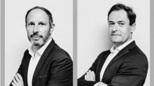 De g à d : Yoann Malys et Benoit Picart