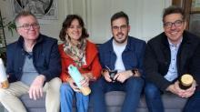 Les fondateurs associés de l'entreprise familiale Ô Maté, à Brest.