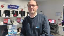 Eric Galimard, déjà franchisé d'une boutique LDLC à Saint-Grégoire en ouvre une seconde au centre de Rennes