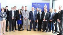 Ce lundi 3 avril 2017, Claude RENOULT (Président de Saint-Malo Agglomération), Pierrick AUVRAY (Président de la Délégation de Saint-Malo de la CCI Ille-et-Vilaine) et Marie TOUQUET (Présidente de Saint-Malo Entreprises) ont lancé officiellement à la CamBuzz (Digital saint-Malo),