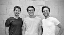 Les  3 cofondateurs de France SCPI avec de gauche à droite  Hélori LANOS, Olivier AME et Paul BOURDOIS