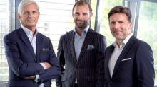 De gauche à droite : Michel Giboire, Président du Groupe Giboire, François Giboire et Olivier Biancarelli, Directeurs généraux de l'activité Promotion immobilière et Aménagement.