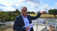 Nicolas Duforeau, directeur du centre commercial Grand Quartier situé  au nord de Rennes.