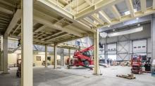 Le nouveau bâtiment a été construit en 6 mois par GTM Outes, filiale de Vinci Construction