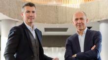 François Leverger ,directeur général d'HelloWork et Jérôme Armbruster , Président