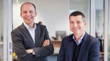 Jérôme Armbruster, président de HelloWork et François Leverger, directeur général