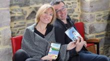 Valérie Thiebaut à la barre d'Héros d'Armor et son conjoint Bruno Crepin