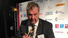 Hervé Balusson, PDG du groupe morbihannais Olmix , 155 millions d'euros de CA dont 80% à l'export