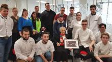 Une vingtaine d'apprentis de l'IFAC de Brest et d'une délégation de jeunes hongrois actuellement en stage Erasmus+ étaient accueillis ce mardi 3 mars par Movil'App, à la CCI Bretagne, autour de Magda Hollander-Lafon