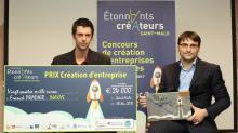 David Buet et Franck Pradier sont les deux fondateurs d'Inakys à Saint-Malo