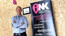 Laurent Gouranton  a créé INK en janvier 2019 à Lamballe