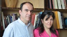 Codirigeants de Jallu Ebénistes à Bazouges la Pérouze, Sandy et Yann Jallu exportent dans le monde entier.