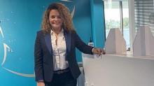 Jennifer Michel, directrice générale de Bleu Mercure Transaction à Plérin dans les Côtes d'Armor vient de démarrer le parcours de formation Manager 22