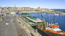 """Le tablier du nouveau pont tournant de Saint-Malo sera posé dans les prochains jours"""""""