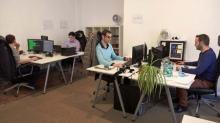 Les équipes de l'agence Keepeek située au centre-ville de Rennes
