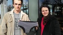 Maëlla Vicaud et Teddy Cattiaux créent La Minette, une culotte menstruelle bio et écolo