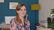 Laura Cumunel a créé à Rennes, la Parenthèse, un lieu inédit où parents et tout petits s'octroient du temps pour partager des activités ensemble et avec d'autres familles.