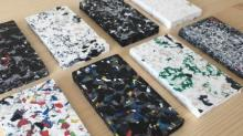 Le Pavé, c'est le projet de l'entreprise rennaise SAS Minimum : fabriquer un revêtement de sol sur-mesure et modulaire composé à 100% de déchets plastiques