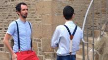 Antoine et Baptiste Moisan ont créé, en avril 2017 , Upsilon, une TPE entièrement dédiée à la fabrication et la vente sur Internet de bretelles