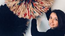 Passionnée de décoration d'intérieur, la rennaise Marie Songué a  créé son site d'objet de décoration néo-ethnique  en misant  dans un premier temps sur les juju hats